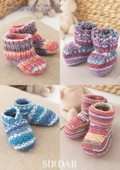 1483 Snuggly Baby Crofter - Bootees