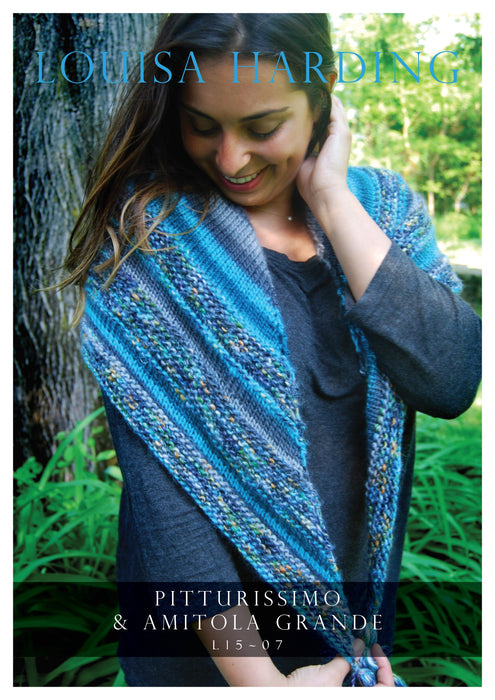 L15-07 Striped Shawl
