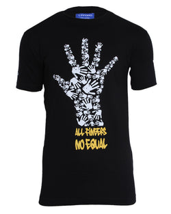 All Finger No Equal Shirt | Black