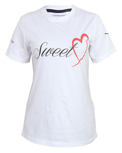 Sweet Heart Print T-Shirt - White