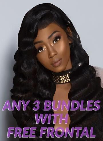 ANY 3 BUNDLE DEAL WITH FREE FRONTAL $175