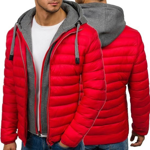 Winter Men Jacket  And Coats Thick Parka Men Outerwear