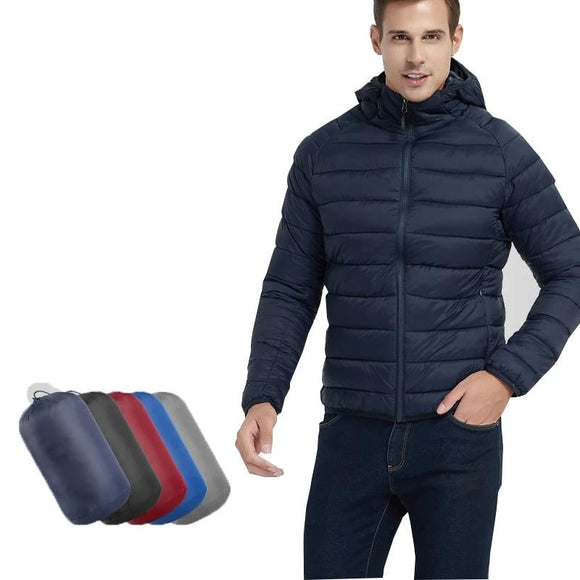 Ultralight Hooded Bubble Winter Coat