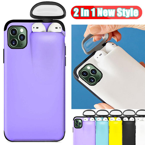 iPhone AirPods Holder Hard Case Cover