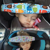 Adjustable Baby Car Seat Head Support Pillow