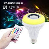 Smart Wireless LED Bulb with Bluetooth Audio Speaker