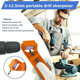 Drill Sharpener - Range: 2 - 12.5 mm