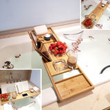 Premium Bamboo Nonslip Bathtub Tray