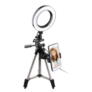 LED Selfie Ring Light Tripod with Phone Holder