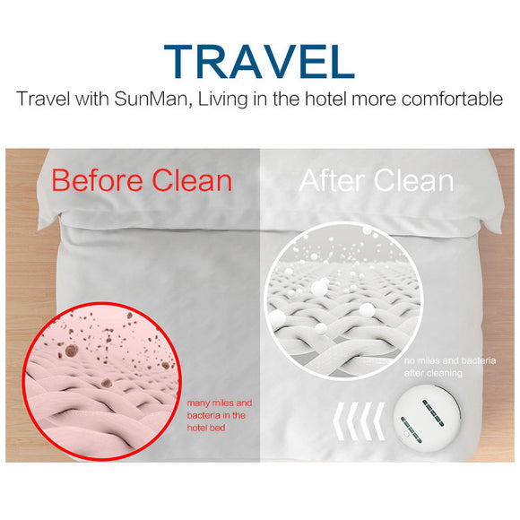 Robot Bacteria/Mites Sterilizer for Household/Travel Use