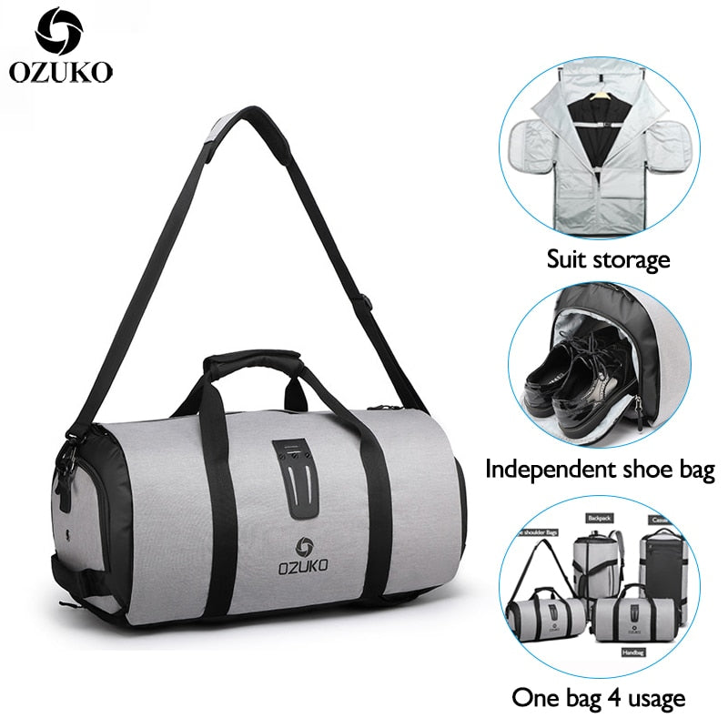 Large Capacity Waterproof Multi-functional Travel Bag