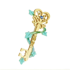 Cherryloco : Enchanted Garden : Magic garden key brooch