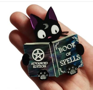 Cherryloco : Spellbound Kitty Brooch