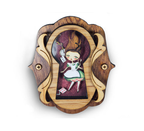 LaliBlue : Alice in Wonderland Brooch