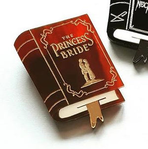 Cherryloco : The Princess Bride book brooch