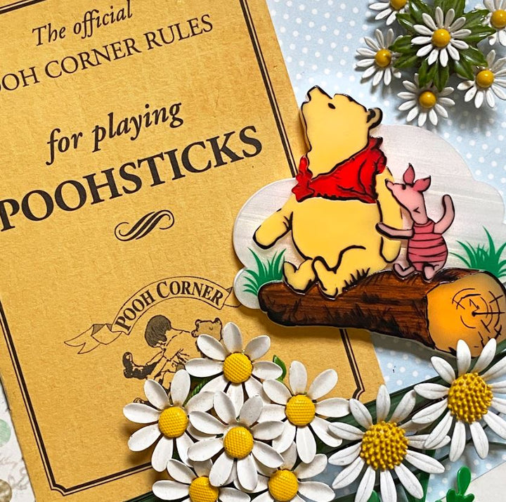 Hungry Designs : Loving Flamingos Brooch - Laser Cut Acrylic Brooch