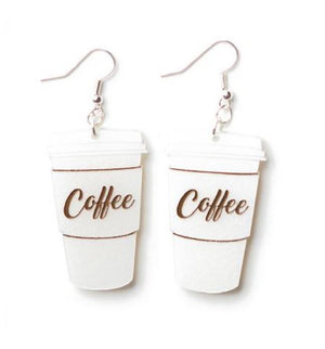 Martinis & Slippers : Coffee Cup Earrings