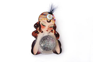 LaliBlue : Fortune teller with crystal ball (PRE-ORDER : NOT IN STOCK - DUE LATE SEPTEMBER)