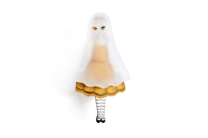 LaliBlue : Ghost Girl Brooch (PRE-ORDER : not in stock, Due Early May)