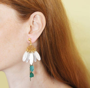 LaliBlue : Daisies Earrings (NOT IN STOCK DUE LATE JULY)