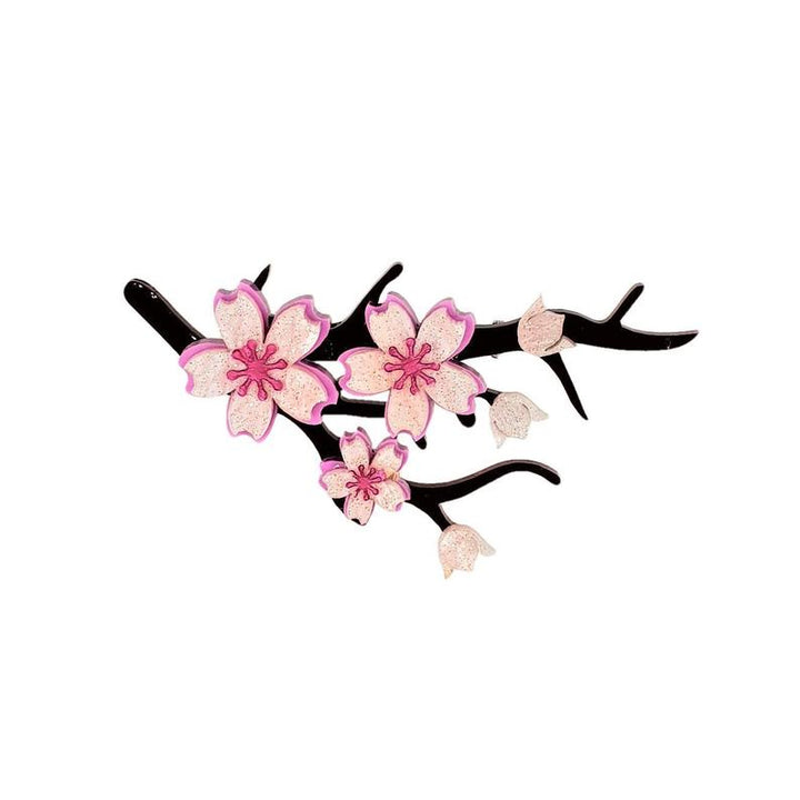 PRE-ORDER : Cherryloco : Enchanted Garden : Sakura blossom brooch  (NOT IN STOCK - DUE END OF NOVEMBER)