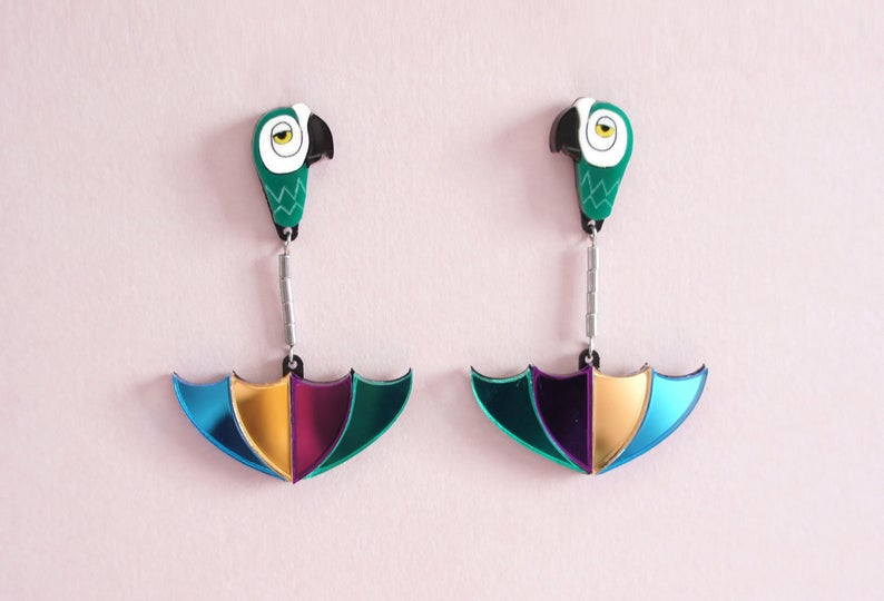LaliBlue : Classic Films : Mary Poppins Earrings