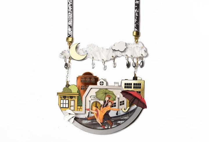 LaliBlue : Classic Films : Singing In The Rain Necklace