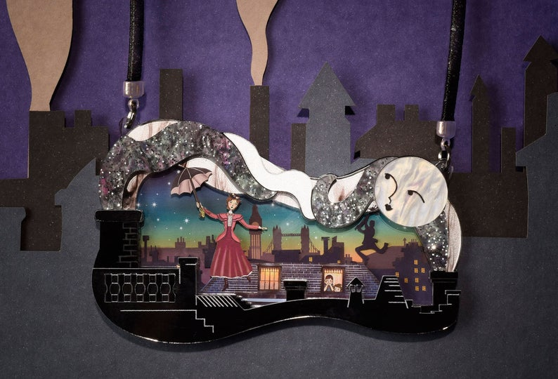 LaliBlue : Classic Films : Mary Poppins Necklace