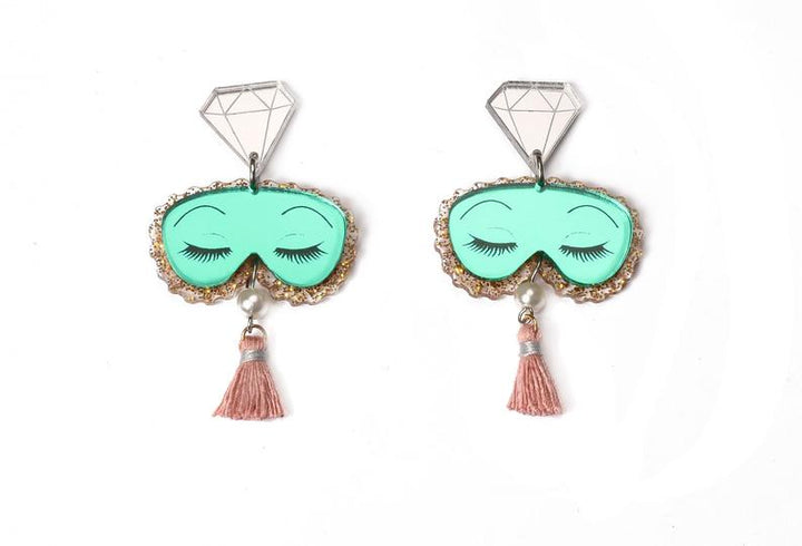 PRE-ORDER : LaliBlue : Classic Films : Breakfast at Tiffany's Earrings