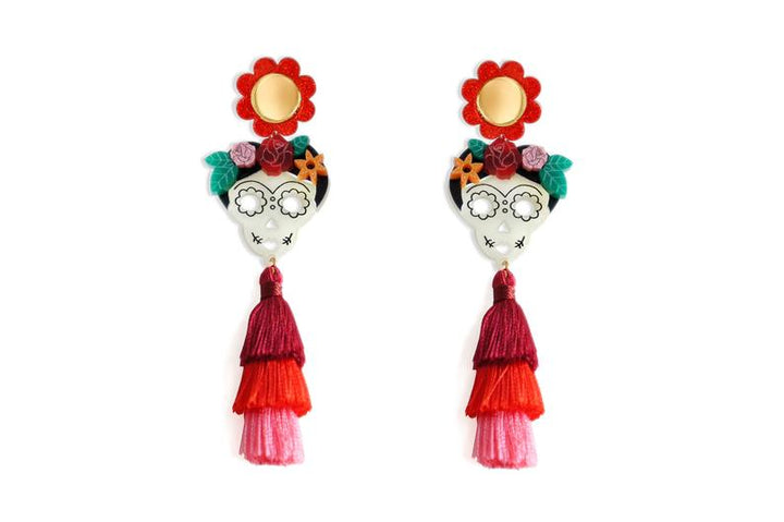 LaliBlue : Halloween : Catrinas Earrings