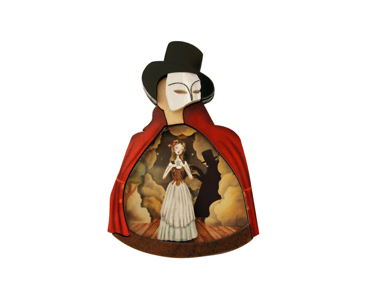 LaliBlue : Halloween : The Phantom of the Opera Brooch