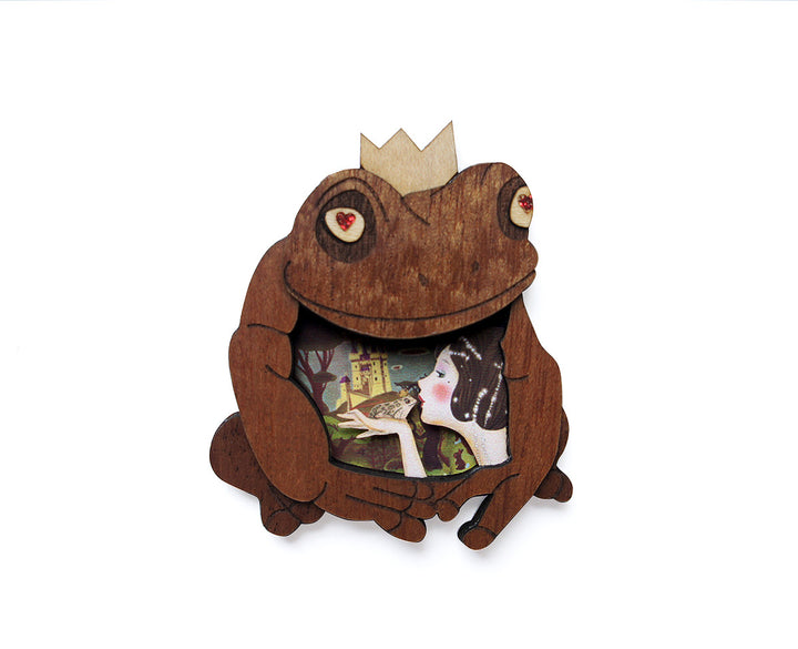 LaliBlue :  Fairytales : Princess and the Frog Brooch