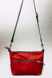 Sample Sale! Crimson MeanStreak Shoulder Bag.