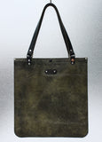 Super Expanding Tote - Leather tote bag