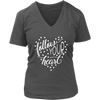 follow your heart - V-neck T-shirt 7-colors Plus Size Available S-4XL - MADE IN THE USA