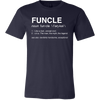 FUNCLE - Tee Mens T-shirt - Canvas - 13 colors available PLUS Size S-3XL MADE IN THE USA