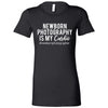 Newborn Photography is my Cardio - Bella + Canvas - Women's Short Sleeve Tee Feminine T-shirt - 16 Colors Available Plus Size S-2XL - MADE IN THE USA