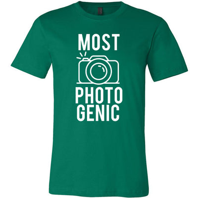 MOST PHOTOGENIC - Photography - Bella & Canvas - O-neck Unisex Short Sleeve Jersey Tee - 12 Colors Available Plus Size XS-4XL - MADE IN THE USA