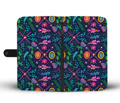 Boho Bold Nature Cell Phone Wallet Case