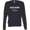 Mother of the Groom  - (Pink Rose) Off Shoulder Long sleeve Flowy Wide Neck Mom Tee - Bella Brand Shirt - 6 Colors Available Plus Size XS-2XL - MADE IN THE USA