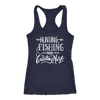 Hunting Fishing and Country Music - Ladies Racerback Tank Top Women - 5 colors available - PLUS Size XS-2XL MADE IN THE USA