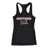 Mother of the Bride - (Pink Rose) Ladies Racerback Mom Tank Top Women - 7 colors available - PLUS Size XS-2XL MADE IN THE USA