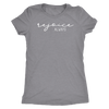rejoice always - O-neck Christian Women TriBlend T-shirt Tee - PLUS Size S-2XL MADE IN THE USA