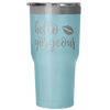 Hello Gorgeous 30 oz Travel Tumbler | Etched / Engraved Stainless Steel Mug Hot/Cold Cup - 7 Colors Available