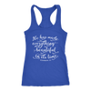 he has made everything beautiful - Ladies Racerback Bible Tank Top Christian Women - 5 colors available - PLUS Size XS-2XL MADE IN THE USA