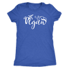 Vegan - O-neck Women TriBlend T-shirt Tee - 5 colors available PLUS Size S-2XL MADE IN THE USA