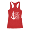 We have an anchor - Ladies Racerback Bible Tank Top Christian Women - 5 colors available - PLUS Size XS-2XL MADE IN THE USA