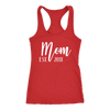 Mom EST. 2018 - Ladies Racerback New Mother Tank Top Women - 5 colors available - PLUS Size XS-2XL MADE IN THE USA