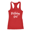 Birthday Girl - Ladies Racerback Tank Top Women - 5 colors available - PLUS Size XS-2XL MADE IN THE USA