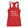 amazing Grace how sweet the sound - Ladies Racerback Bible Tank Top Christian Women - 5 colors available - PLUS Size XS-2XL MADE IN THE USA